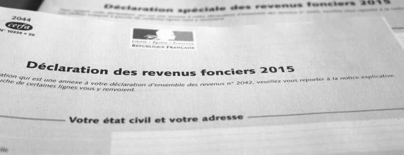Revenus Fonciers   Comment Dclarer Ses Loyers