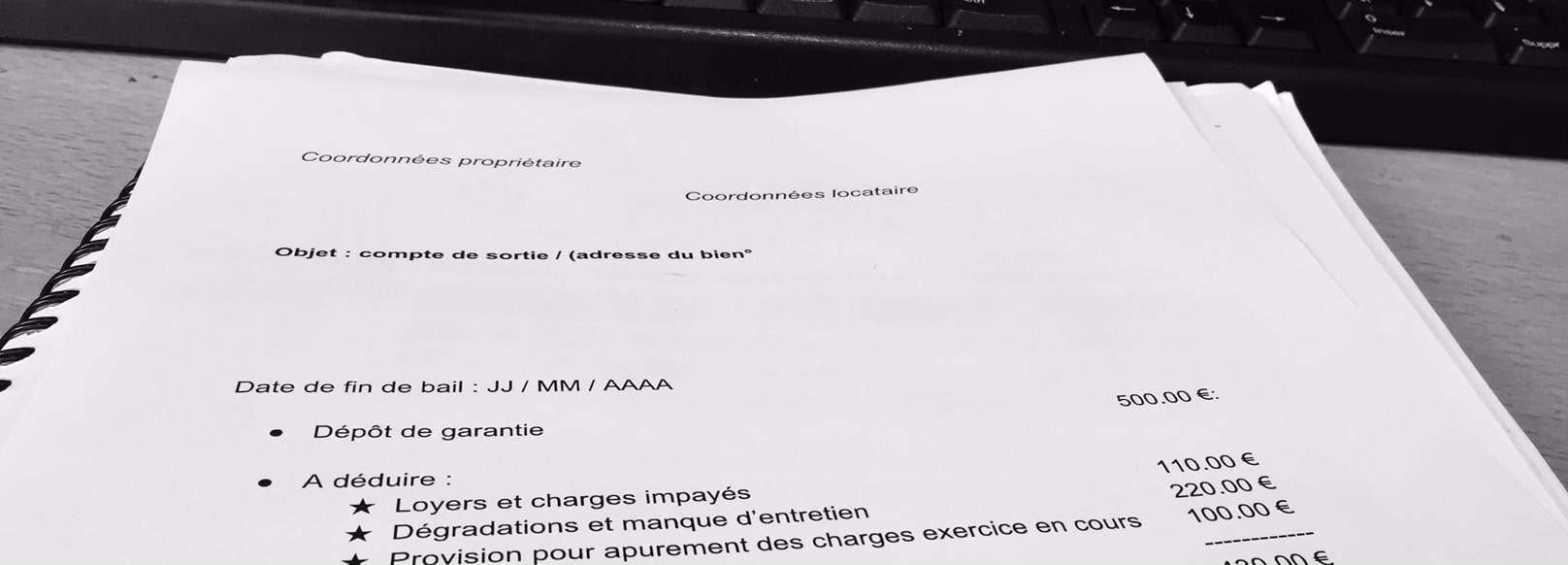 Restitution Depot De Garantie Comment Calculer Le Montant